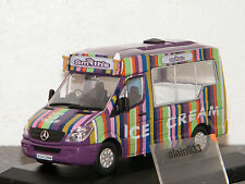 MERCEDES BENZ ICE CREAM SMITHS OXFORD 1/43 Ref OXFORD WM006