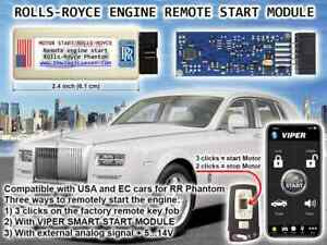 Rolls-Royce Phantom, DropHead, Coupe RR1 2002-2012 Remote Start Module