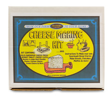 Diy Fresh Cheese Making Kit - Cheddar Cheese, Cottage Cheese, Cream Cheese