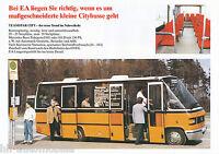 Prospekt EA Ernst Auwärter Teamstar City 1992 Bus Omnibus brochure coach