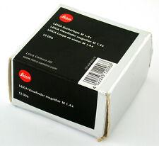Leica mirino lente d'ingrandimento M 1.4x viewfinder Magnifier Loupe 1,4x 12006 NOS merce in magazzino Nuovo