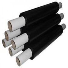 1  EXTENDED Black Strong Rolls Pallet Stretch Shrink Wrap Parcel Packaging CLING