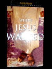 Where Jesus Walked  VHS movie