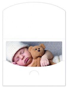 Schutzumschläge / Bildmappen / Fotomappen Schoeller&Stanzwerk 100 Stück 13x18 ws