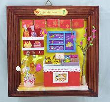LOT OF Dollhouse miniature kit- 3D Frame Life Series (M15/M18) w/Frame