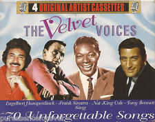 HUMPERDINCK/BENNETT/SINATRA/COLE - The Velvet Voices (Four Cassette Album Set)