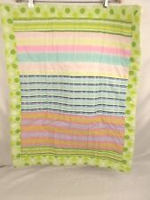 Domestications Dots & Stripes Multi-Colored Sham NIP #138D 13378B