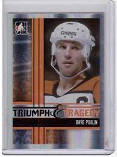 DAVE POULIN 11/12 ITG Broad Street Boys Base Card #41 Philadelphia Flyers SP