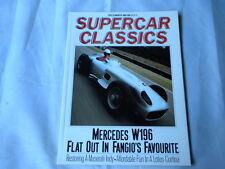 Supercar Classics December 1988 - W196 - Maserati indy - Lotus Cortina MK1