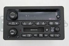 1C FACTORY REMAN 02-05 GM IMPALA CAVALIER MALIBU CASS SINGLE CD RDS RADIO UNLOCK