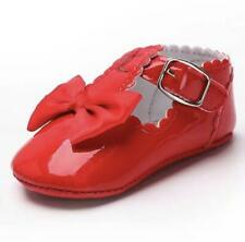 Soft Sole Moccasins in Glossy Red