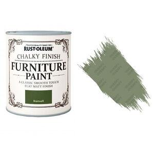 Sale Rust-Oleum Chalk Chalky Furniture Paint Chic Shabby 750ml Bramwell Matt