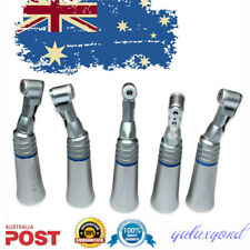 5pc Dental Slow Low Speed E-Type Handpiece Contra Angle Latch Bur Lab NSK Style