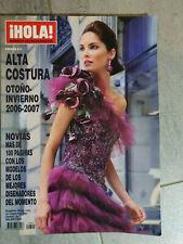 Magazine fashion HOLA EXTRAORDINARIO otono invierno 2006/07 Eugenia Silva