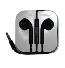 Auriculares para iPhone 5 5s 5c 6 6 Plus 6s 6s plus con Conector Jack 3.5 Negro