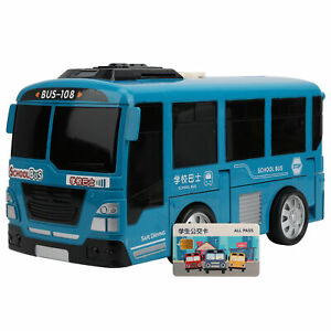 Bus Toy Educational Multifunctional Transformable Bus Kid Child Early Learn Toy