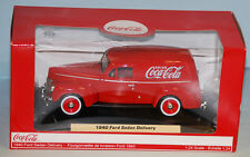 Coca-Cola 1940 Ford Sedan Delivery Van Die-Cast by Motorcity Classics