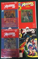 ROBIN III lot of (4) issues #3 #4 #5 both covers (1993) Marvel Comics FINE-