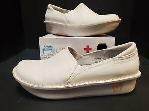 NEW! Alegria Debra White Napa Size 41 (US 10.5)