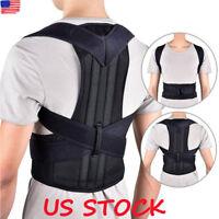 Chest Support Belt Back Shoulder Posture Corrector Therapy Humpback Brace Vest