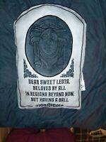Disney Parks Haunted Mansion Madame Leota Tomb Stone Throw Pillow NWT