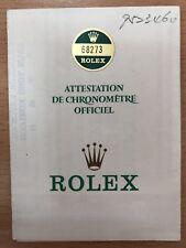 Original Vintage Rolex 68273 - 9523469  Watch -  Used   Certificate Guarantee R