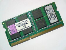 4gb ddr3-1066 pc3-8500 Kingston kvr1066d3s7/4g ordinateur portable sodimms ram Mémoire