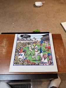 1991 LOS ANGELES DODGERS BASEBALL YEARBOOK