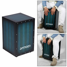 More details for cajon wooden box drum hand drum percussion instrument for rhythm practice