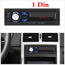 1 Din In-Dash Bluetooth MP3 Multimedia Player AUX USB FM RCA Stereo Car Radio