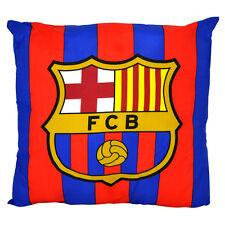 Almohada Cojín Cuadrado emblema de FC Barcelona Dormitorio Sillón Nuevo Regalo Navidad