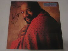 Isaac Hayes AUTOGRAFO Love Attack firmato LP SIGNED AUTOGRAPH inperson
