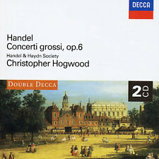 HANDEL: CONCERTI GROSSI OP.6 NEW CD