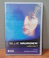 Blue Murder   Volume 1    DVD  Slim Case   BRAND NEW