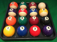 "POOL 16 BALL TRAY...""2"" ""2 1/4..FREE 1ST CLASS DELIVERY... (BALLS NOT INCLUDED!)"