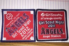 2 GIRL SCOUTS Celebrating 100 Years 2012 AND 2011 Angels Stadium Anaheim Patch