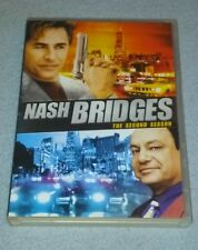 Nash Bridges: The complete Second Season DVD, 5-Disc Set *RARE opp