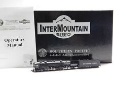 N Scale InterMountain Southern Pacific AC-12 4-8-8-2 Cab Forward Steam Loco RARE