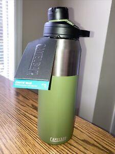 New CamelBak Chute Mag Vacuum Water Bottle 32 Ounces/fl oz Olive Color magnetic.