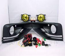 For 2017-2018 Nissan Pathfinder Fog Lights w/Wiring Kit & COB LED Bulbs - Amber