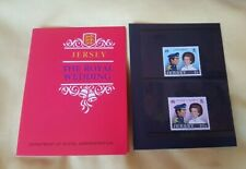 Jersey stamp pack 1973 the royal wedding Princess Anne