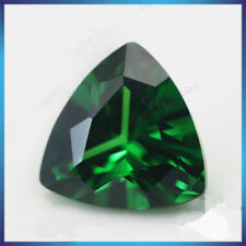7.25ct AAAAA Natural Mined 10x10mm Sri-Lanka Emerald Trillion Cut VVS Loose Gems