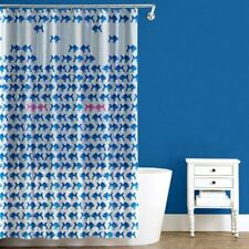 SPLASH BATH SHOWER CURTAIN PEVA VINYL - TRYST BLUE 2 - 70 x 72 NEW