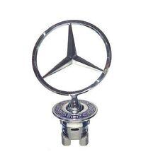 Mercedes Benz Standing Star Hood Mount Emblem Ornament Badge New With Box (Fits: Mercedes-Benz)
