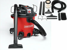 Craftsman Wet Dry Vacuum Set XSP 12 Gallon 5.5 HP Swivel Caster Ergonomic Handle