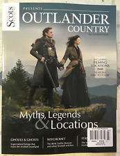 Outlander Country Myths Legends & Locations Scots Magazine Seasons 1 - 4 Filming