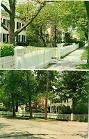 Vintage Postcard - Beautiful Bellport Lane Long Island New York NY  #1787