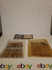 New ListingMini Woodcarving Chisel Tools Carvings woodworking 30 Pc Set New!