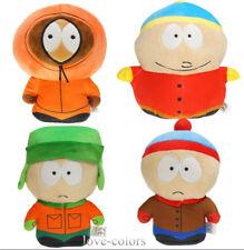 "Set 4pcs New South Park Kyle Stan Cartman Kenny Stuffed Soft Plush Toy Doll 7"""