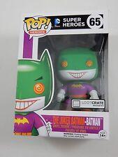 Funko Pop! DC Super Heroes The Joker Batman Batman #65 Loot Crate Exclusive